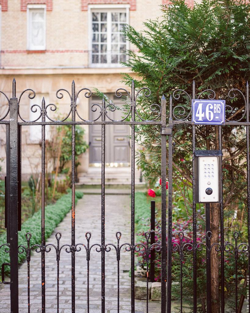 Gate, Rue Caulaincourt