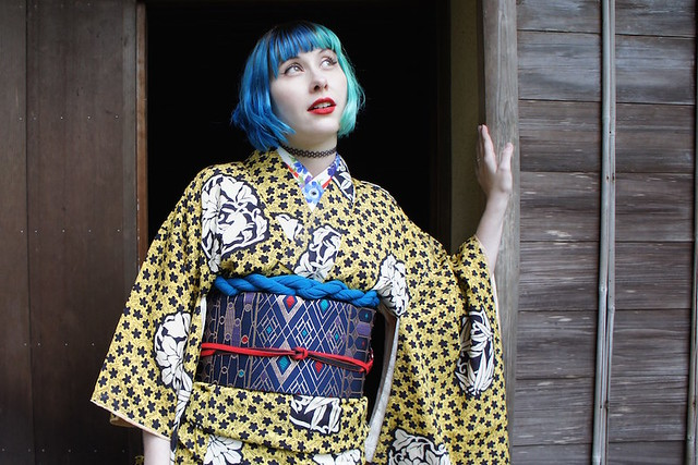 Kyoto Autumn Kimono