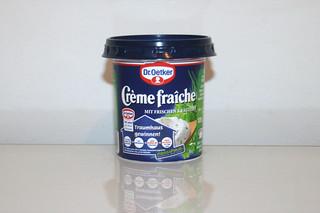 12 - Zutat Creme fraiche mit Kräutern / Ingredient creme fraiche with herbs