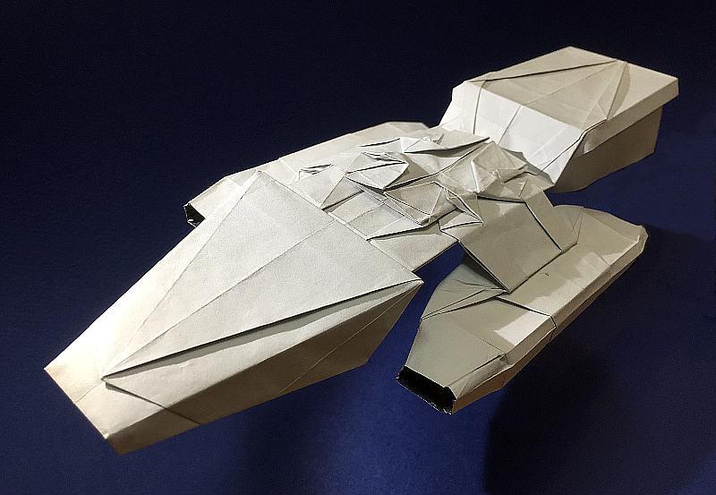 Battlestar Galactica Origami A Photo On Flickriver