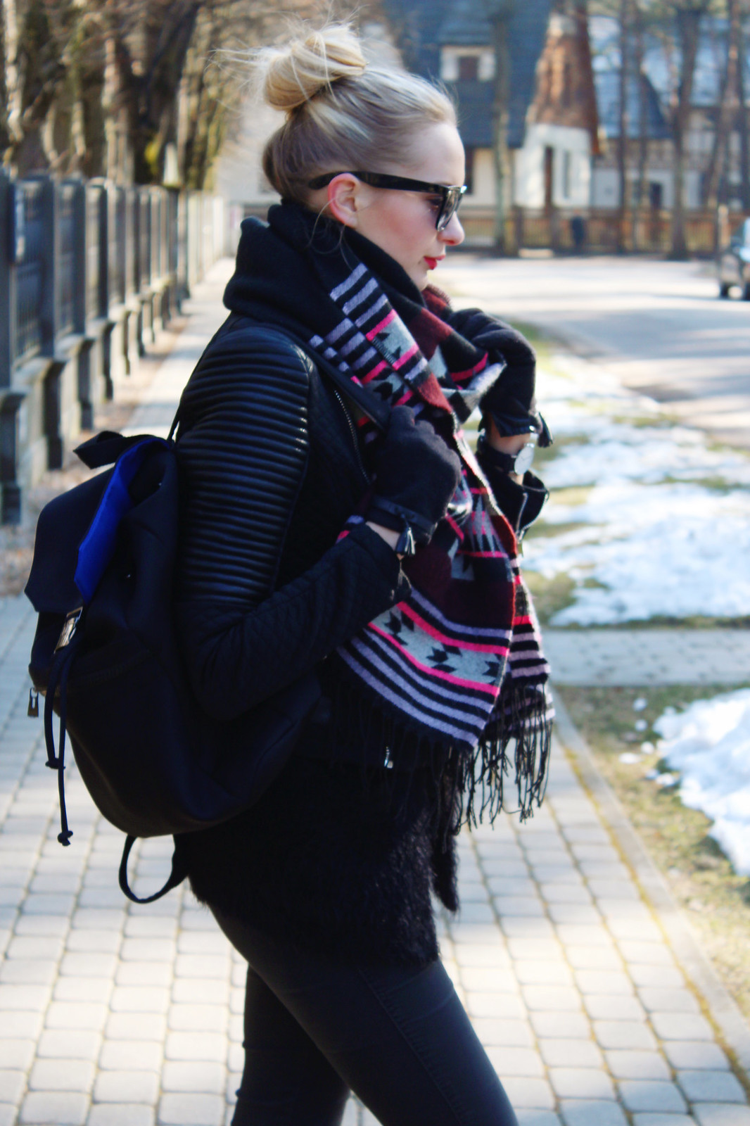 Latvian fashion blogger