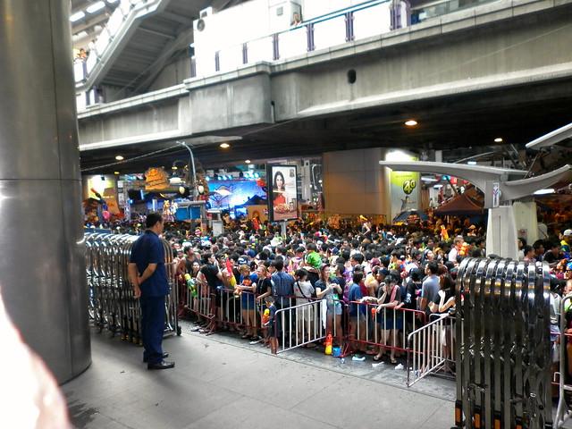 Songkran Bangkok Silom 7