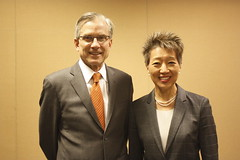 NEA and NEH chairmen joined UMD community to celebrate 50th anniversaries.  NEA Chairman Jane Chu and NEH discussed how the arts and humanities unlock solutions to some of society's most pressing challenges and how they impact public engagement, technological advancement and cultural preservation.