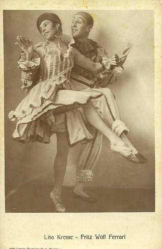 Lisa Kresse and Fritz Wolf Ferrari
