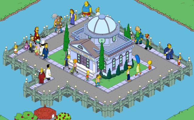 Tapped Out: Trapped On Town Hall Island