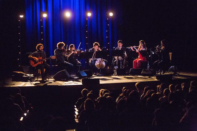 Jose Gonzalez and yMusic @ Berklee Performance Center