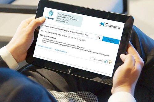 IBM Watson ayuda a CaixaBank a potenciar el asesoramiento en comercio exterior mediante computación cognitiva
