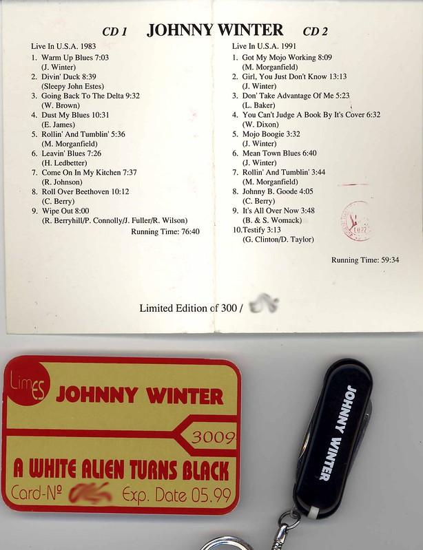 Johnny Winter's A White Alien Turns Black