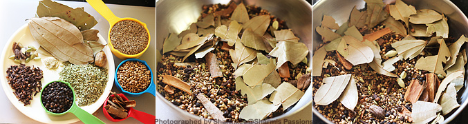 How to make Punjabi Garam Masala Powder - Step1