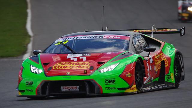 #33 Barwell Motorsport Lamborghini Huracan GT3 - Jon Minshaw / Phil Keen - British GT 2016 - Brands Hatch GP - Race 1