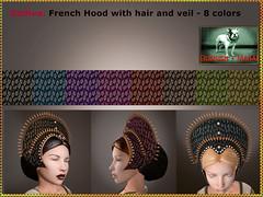 Bliensen + MaiTai - Godiva - French Hood with Hair 2
