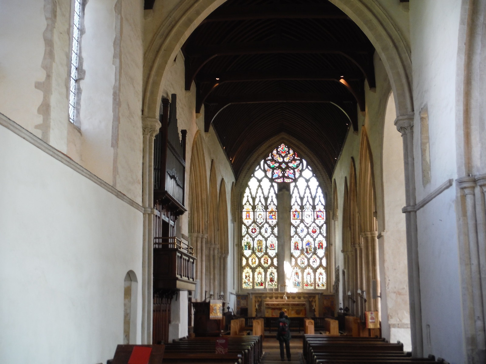 Chancel and Sanctuary, Dorchester Abbey SWC Walk 44 - Didcot Circular