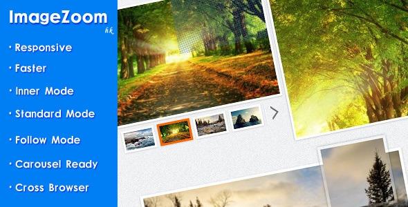 Codecanyon ImageZoom - Responsive jQuery Image Zoom Plugin