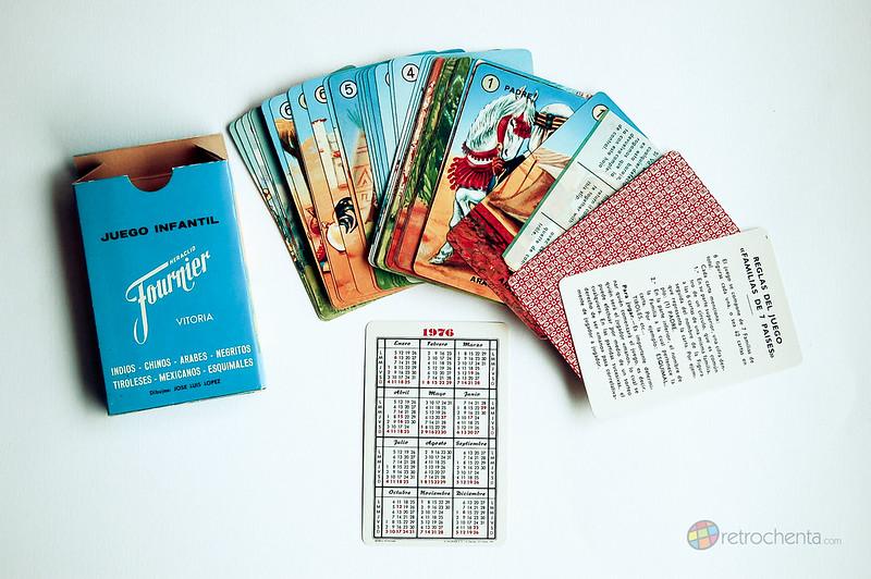 Baraja Familias de los 7 Países - tercera edición - cartas