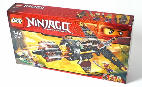 LEGO Ninjago 70747 Boulder Blaster box01