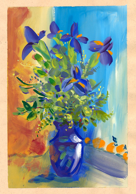 Sketchbook #93: Irises