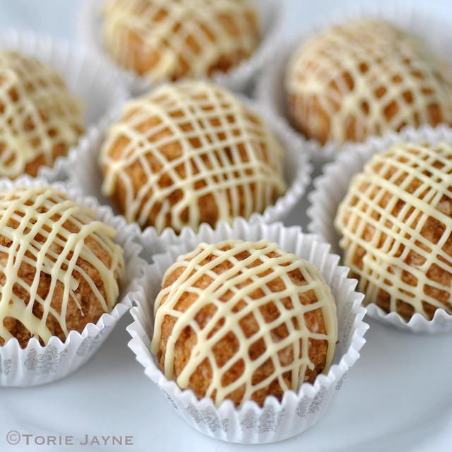 Cherry cheesecake chocolate truffles