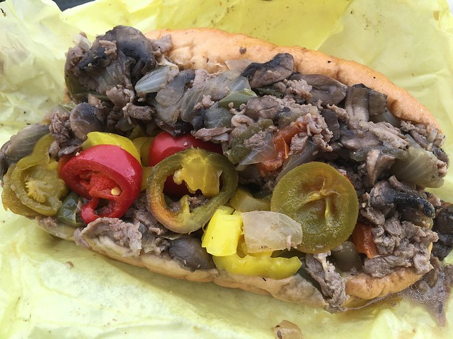 Combo cheesesteak - Phat Philly