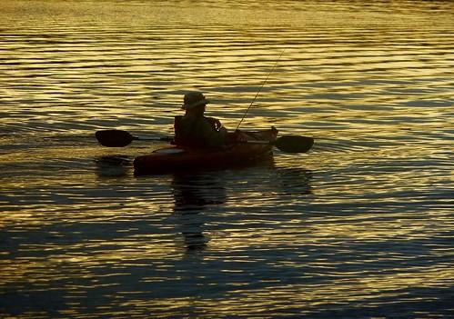 sunset lake water reflections geotagged gold evening kayak massachusetts newengland panasonic brooks dmczs5 brooksbos