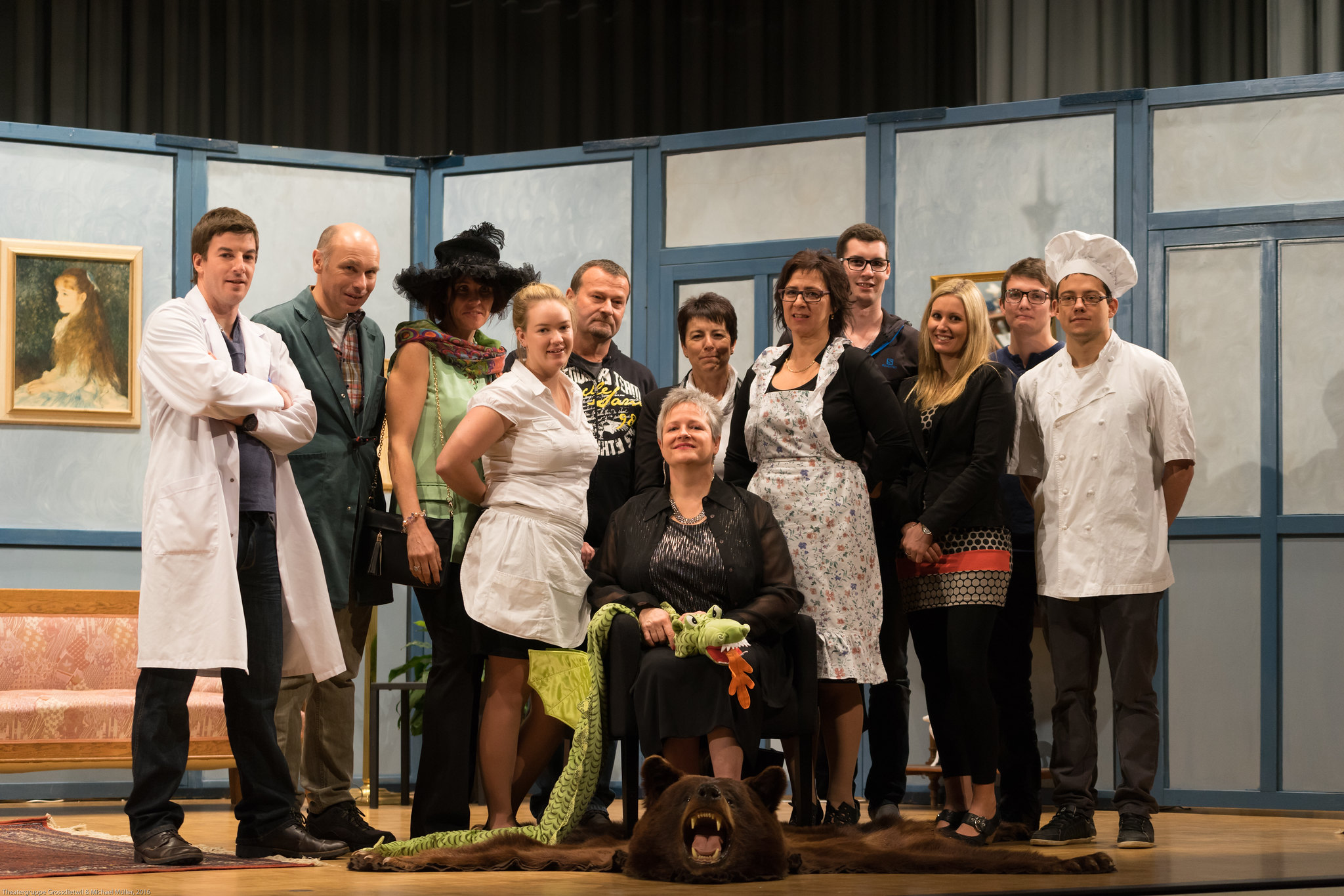 """Theaterstück """"Do chasch Gift druf näh!"""" Theatergruppe Grossdietwil 2016"""