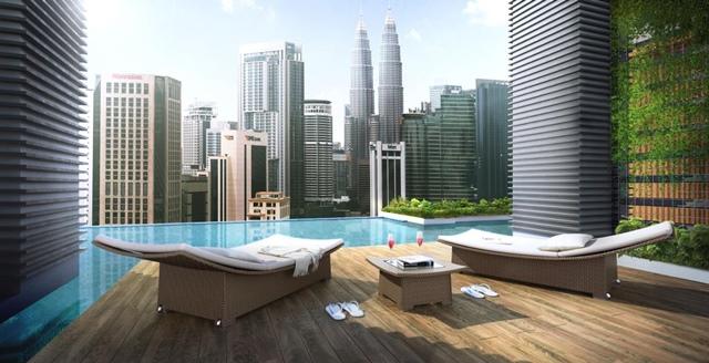 Anggun Residences - Infinity Pool