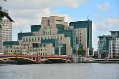 London, MI6 Building