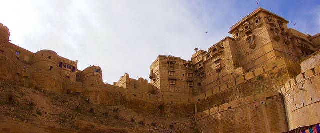 "Jaisalmer ""golden"" fort"