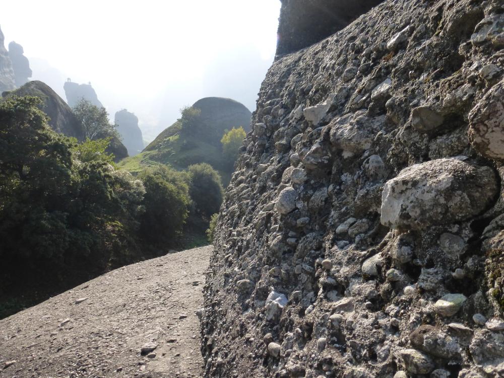 Meteora Stone Pillar
