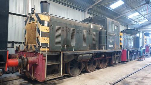 D2199 British Railways shunter