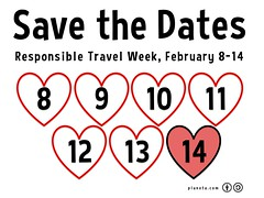 Save the Dates and fall in love with responsible travel, Feb 8-14 #rtweek16