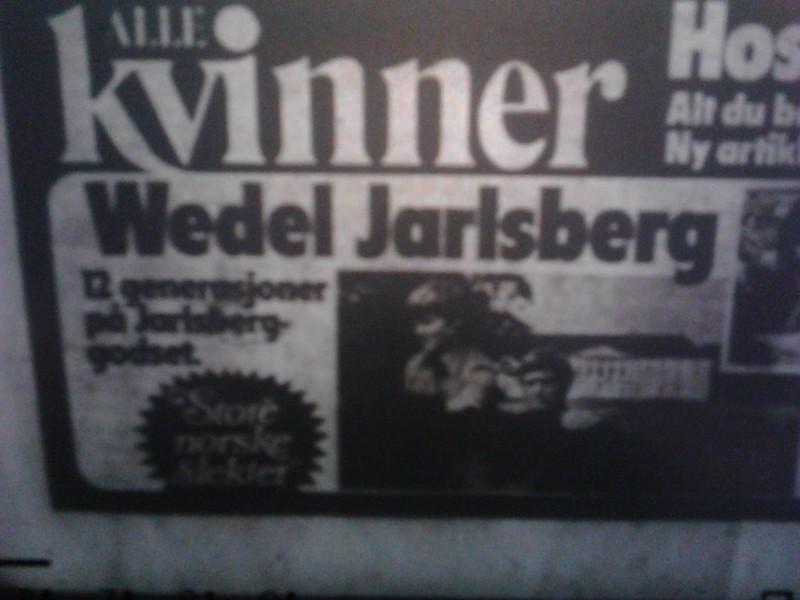 wedel jarlsberg