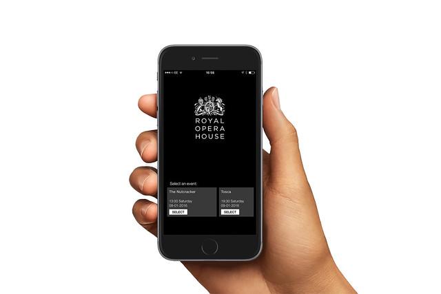 Royal Opera House Bars App © ROH