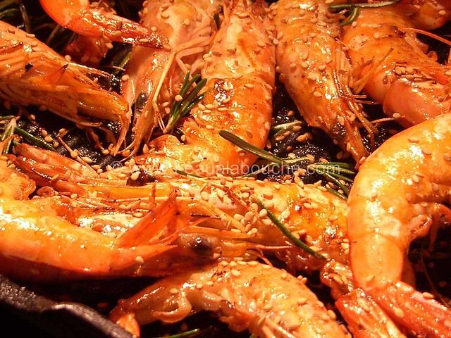 Crevettes Fleur de Sel & Huile de Sésame © Ana Luthi Tous droits réservés 02