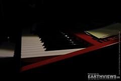 Close up synthesizer keys 05