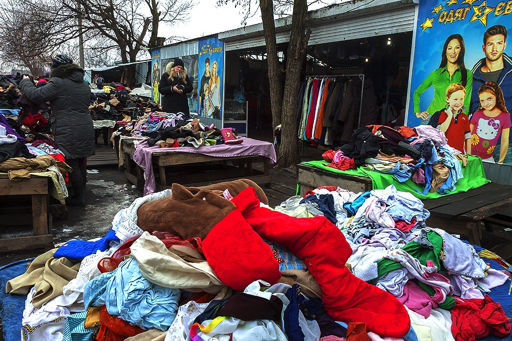 Second hand flea market near Lisova Station--Kiev 2
