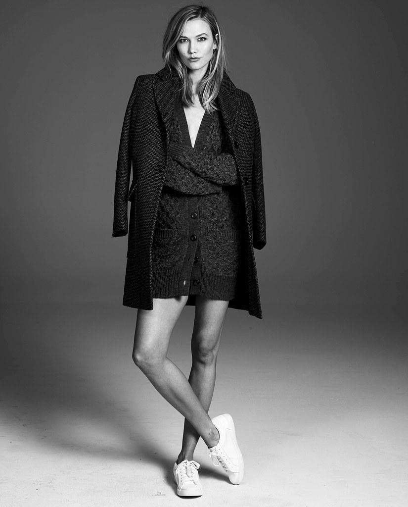 Карли Клосс — Фотосессия для «Flare» 2015 – 6