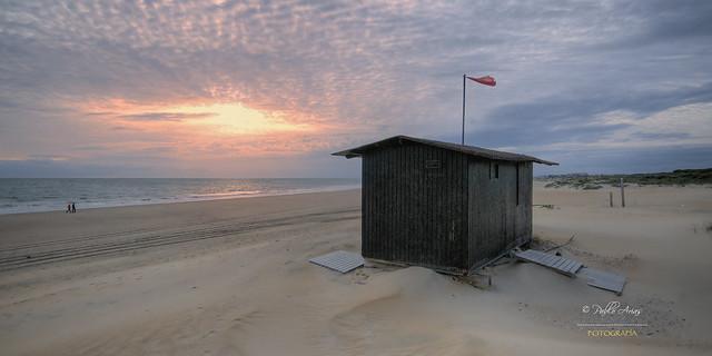 (056/16) Playa de los Enebrales (Punta Umbría)