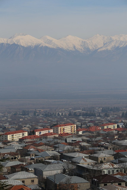 View to the Caucasus