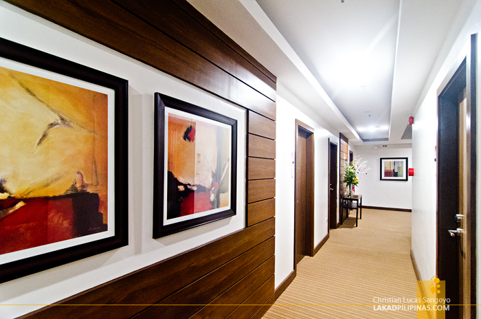 Ironwood Hotel Tacloban Hallway