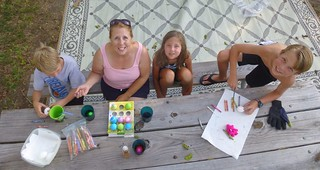 Egg decorators