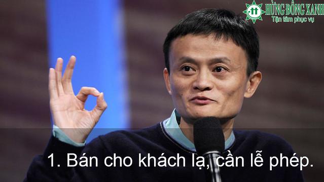 du học trong tầm tay: Nguyên tắc bán hàng của Jack Ma