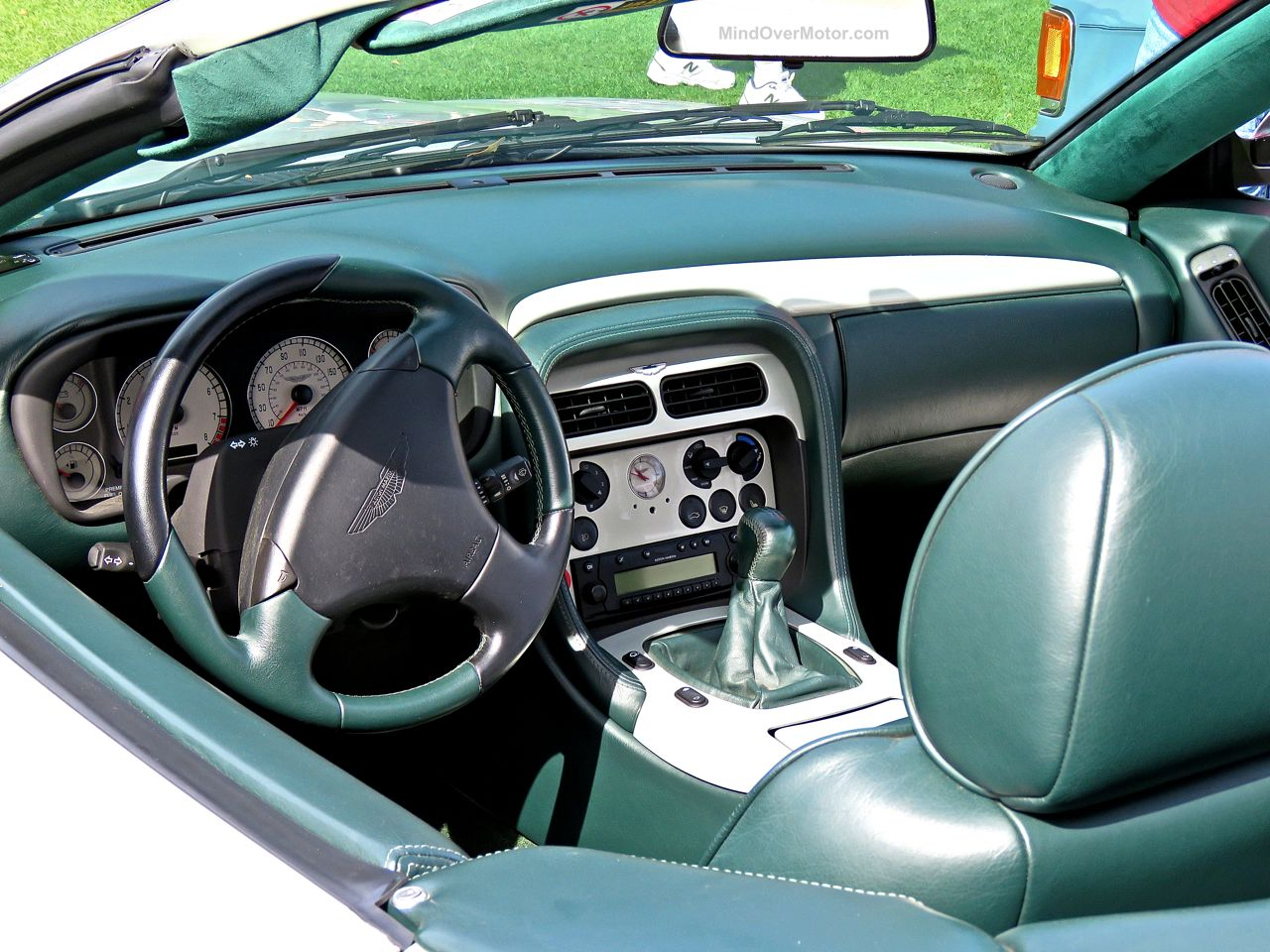 Aston Martin DBAR1 Zagato Amelia Island 3