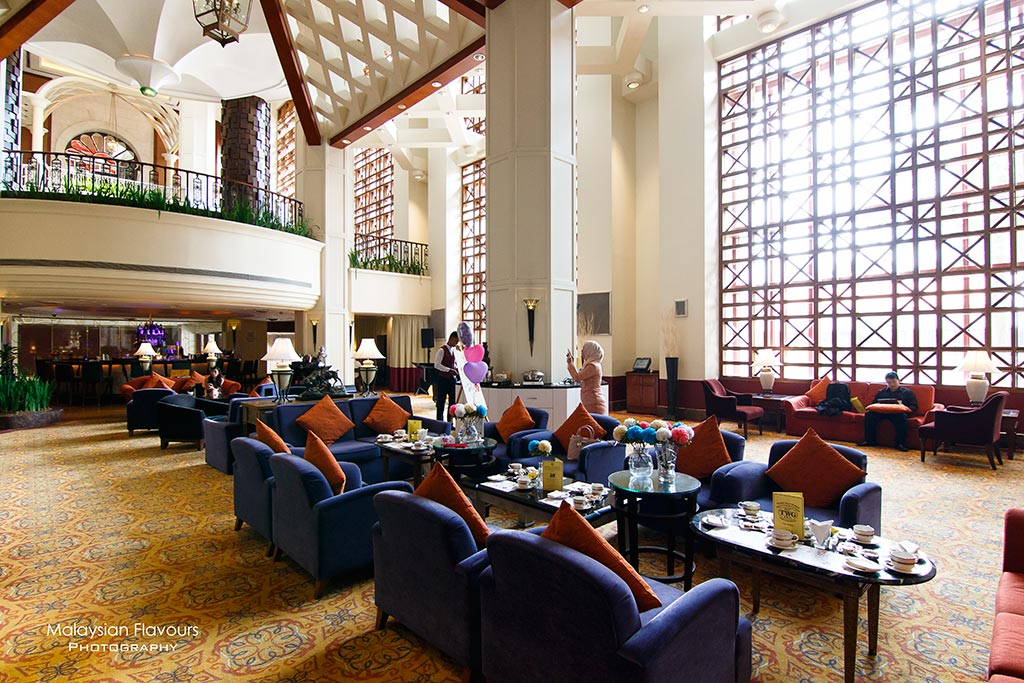Classic Afternoon Tea Sheraton Imperial KL interior