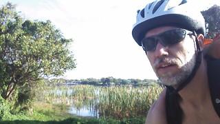The lake at TY park