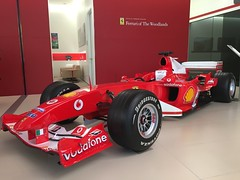 Schumachr's F1 Car