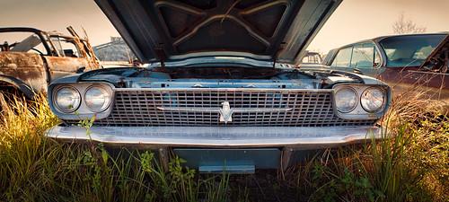 auto ford car florida junkyard thunderbird debary canon7d topazadjust5 tamron24mmf25adaptall lightroomcc americanautosalvage