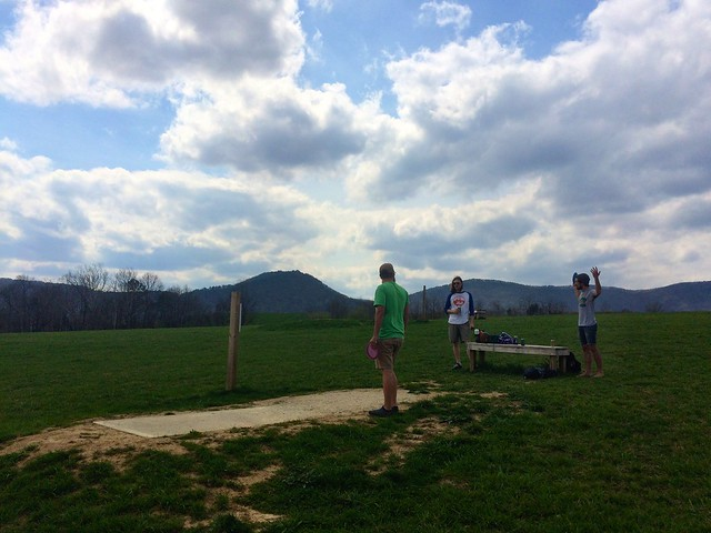 Roanoke disc golf