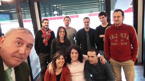 Palcos en San Mamés (gracias a #Euskaltel)