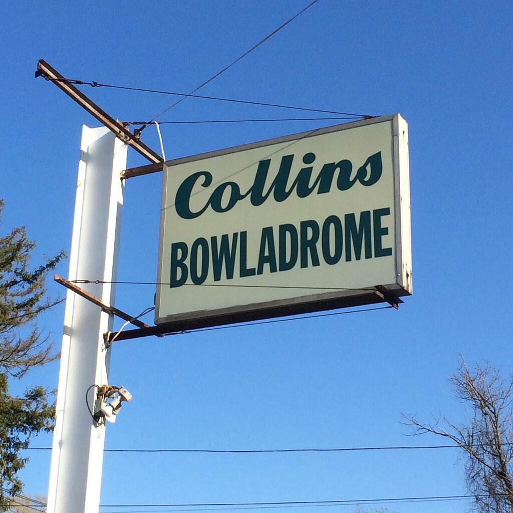 Collins Bowladrome Duckpin Bowling Billerica MA - Retro Roadmap