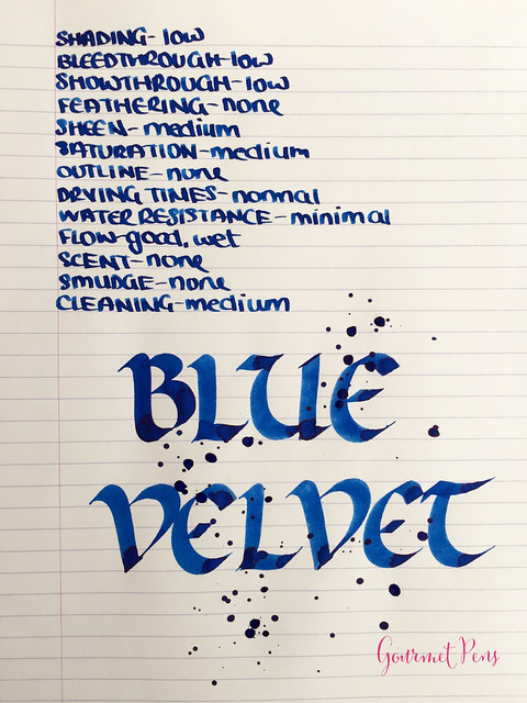 Ink Shot Review Diamine 150th Anniversary Blue Velvet @AppelboomL (3)